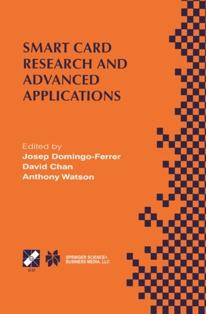 (ebook) Smart Card Research and Advanced Applications