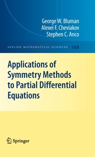 (ebook) Applications of  Symmetry Methods to Partial Differential Equations - Science & Technology Mathematics