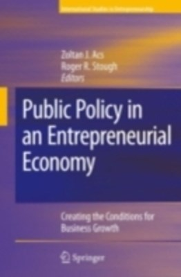 (ebook) Public Policy in an Entrepreneurial Economy
