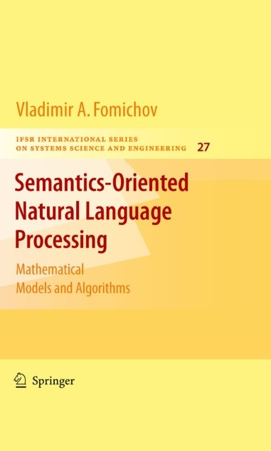 (ebook) Semantics-Oriented Natural Language Processing