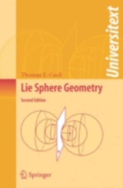 Lie Sphere Geometry