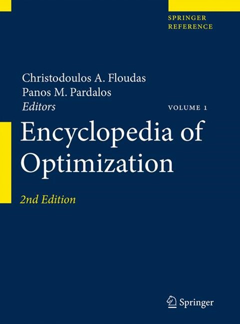 Encyclopedia of Optimization