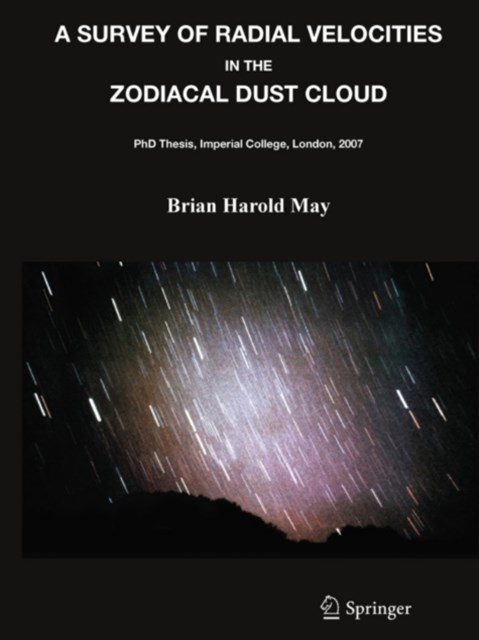 Survey of Radial Velocities in the Zodiacal Dust Cloud