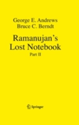 (ebook) Ramanujan's Lost Notebook