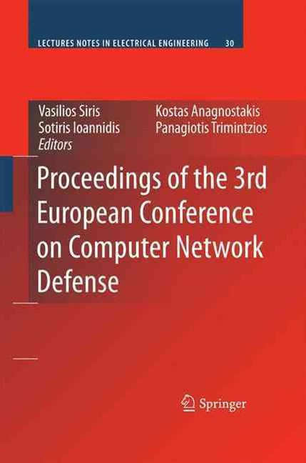 Proceedings of the 3rd European Conference on Computer Network Defense