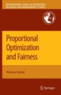 (ebook) Proportional Optimization and Fairness - Business & Finance Ecommerce