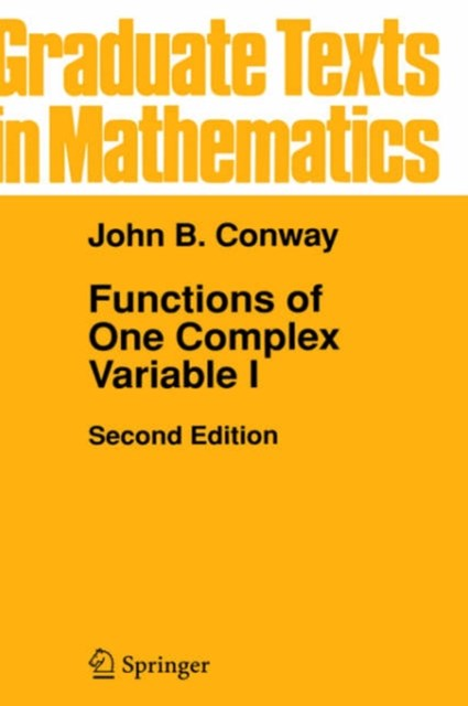 Functions of One Complex Variable