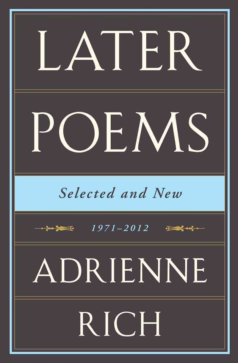 Later Poems Selected and New