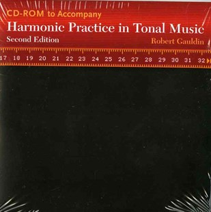 Harmonic Practice in Tonal Music 2E CD (Mp3 Files on a Data CD) - Entertainment Music General