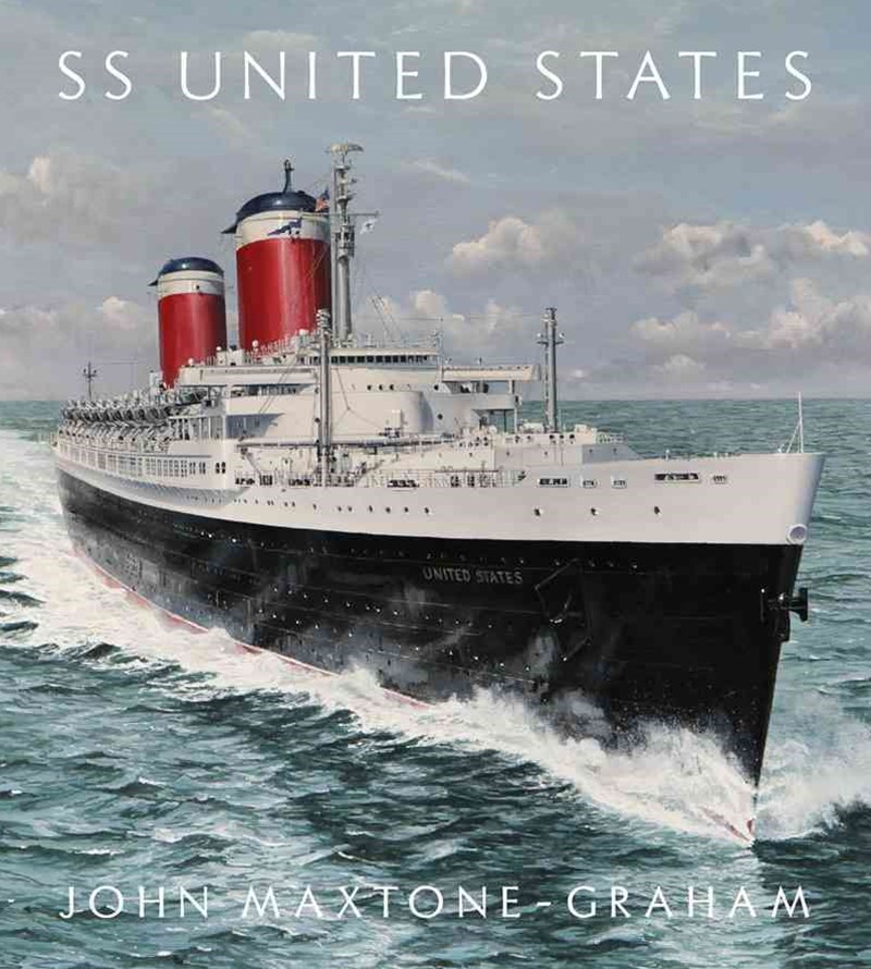 SS United States Red, White, and Blue Ribband, Foreverss United States Red, White, and Blue Ribband, Forever