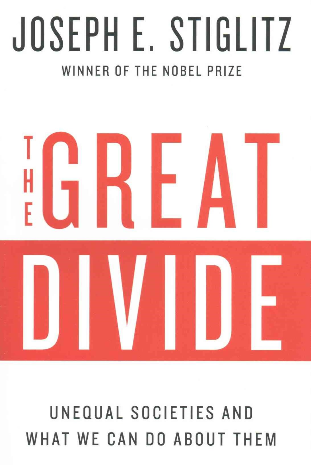 Great Divide - Unequal Societies and What We Can Do About Them