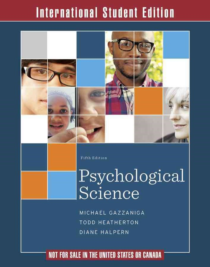 Psychological Science, Fifth International Edition Ebook with Inquizitive and Zaps Folder