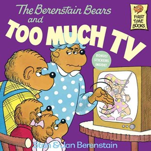 Berenstain Bears And Too Much TV by Jan Berenstain, Stan Berenstain (9780394865706) - PaperBack - Children's Fiction Intermediate (5-7)