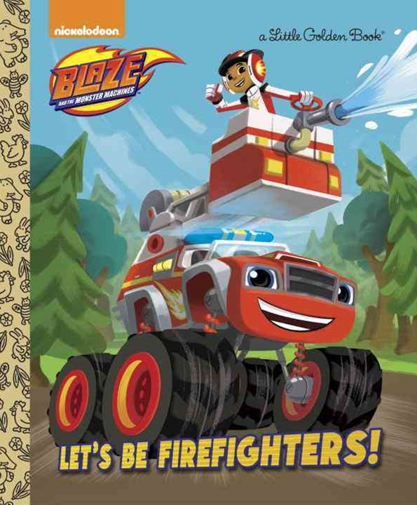 Blaze and the Monster Machines Little Golden Book