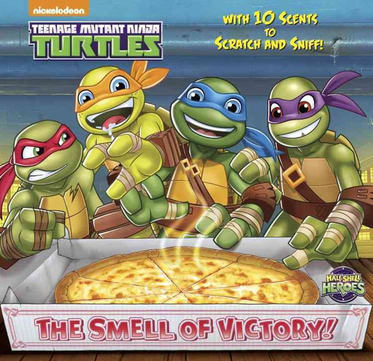 Teenage Mutant Ninja Turtles Scratch-and-Sniff Book (Teenage Mutant Ninja Turtles)