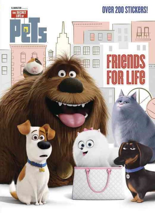 Secret Life of Pets Deluxe Stickerific (Secret Life of Pets)