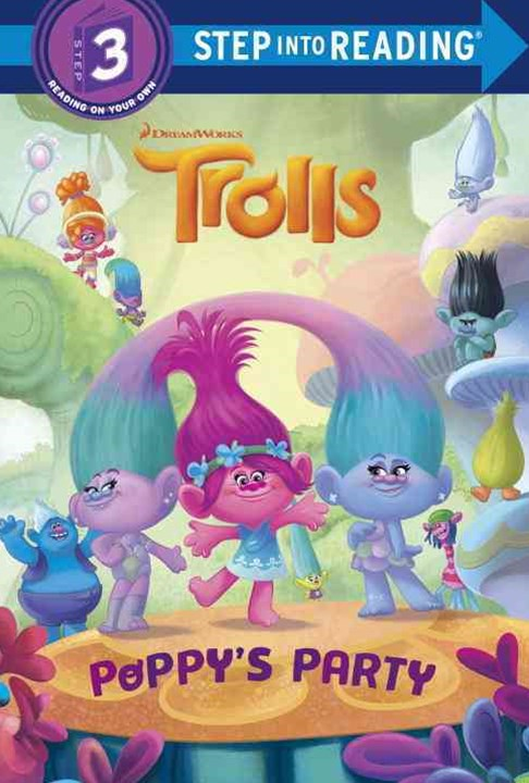 Trolls Deluxe Step into Reading with Cardstock