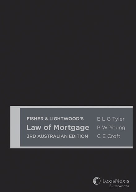 Fisher & Lightwood's Law of Mortgage, 3rd Edition