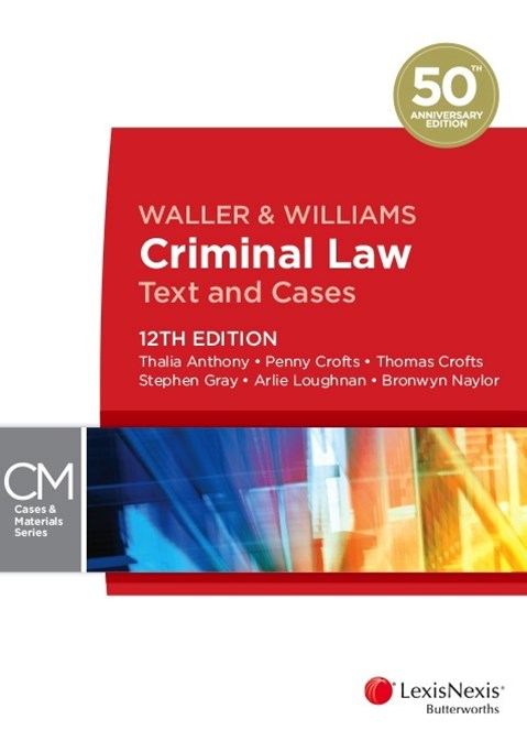Criminal Law Text and Cases