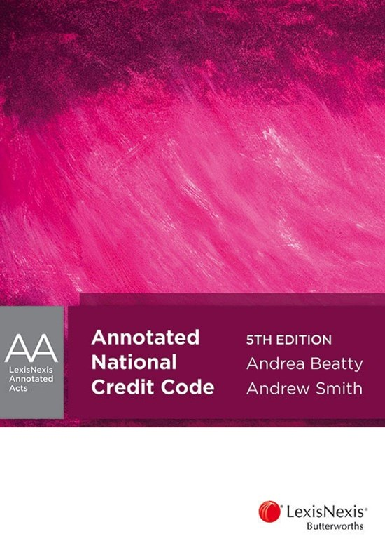 LNAA: Annotated National Credit Code, 5th edition