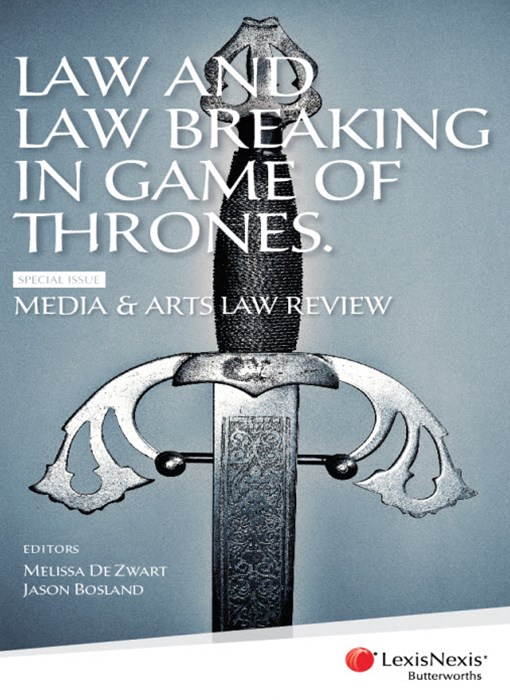Law and Law Breaking in Game of Thrones