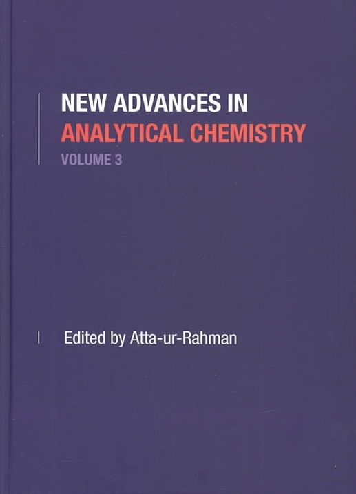 New Advances in Analytical Chemistry