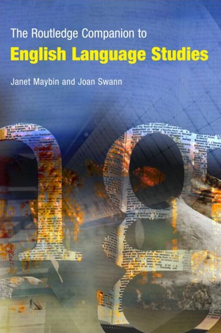 Routledge Companion to English Language Studies
