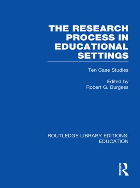 The Research Process in Educational Settings