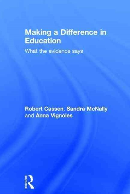Making a Difference in Education