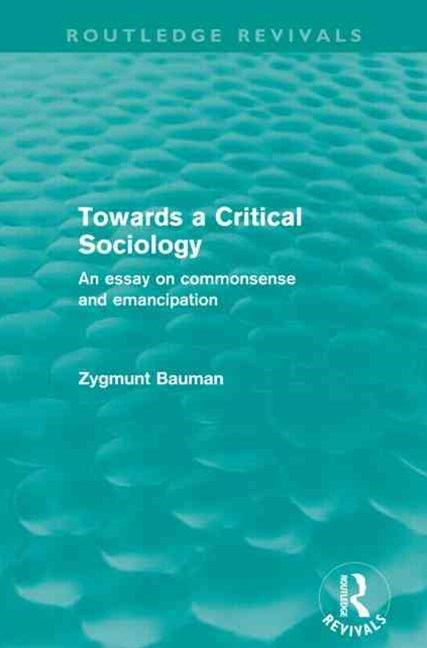 Towards a Critical Sociology