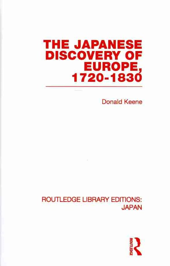 Japanese Discovery of Europe, 1720-1830