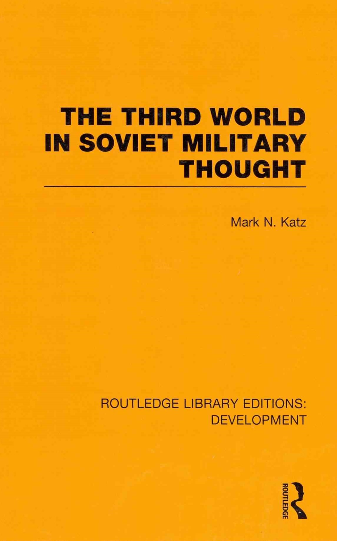 Third World in Soviet Military Thought