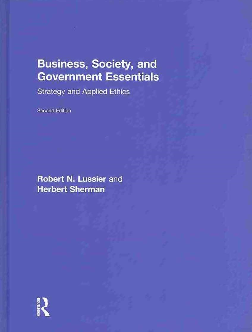 Business, Society and Government Essentials