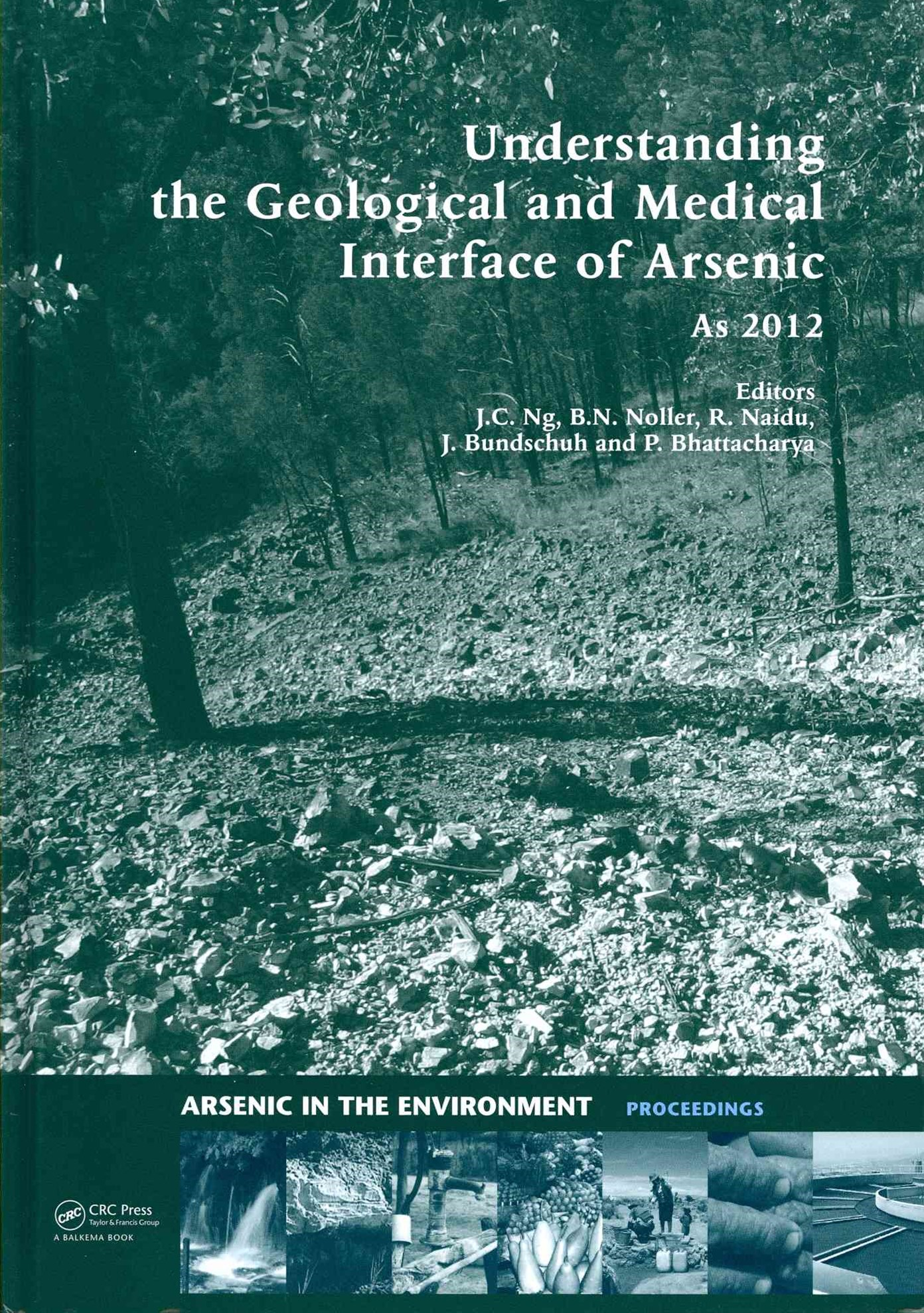 Understanding the Geological and Medical Interface of Arsenic - AS 2012