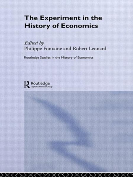 Experiment in the History of Economics