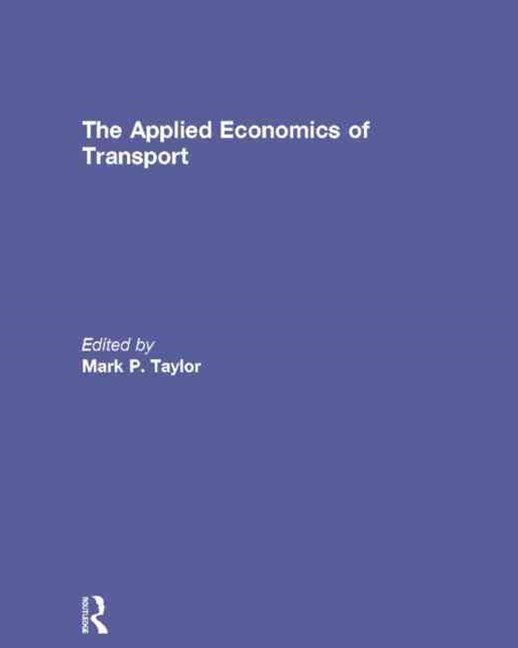Applied Economics of Transport