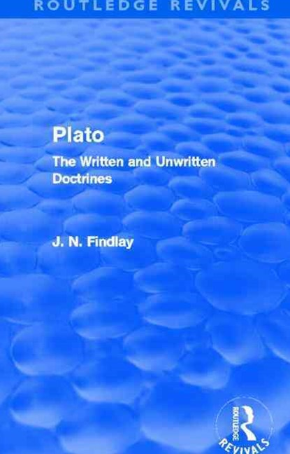 Plato (Routledge Revivals)