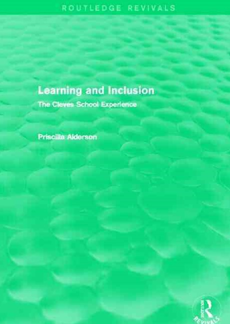 Learning and Inclusion (Routledge Revivals)