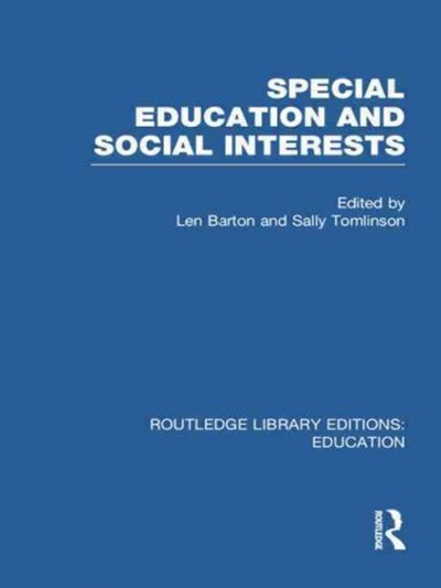 Special Education and Social Interests