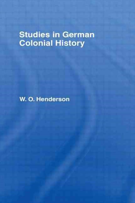 Studies in German Colonial History