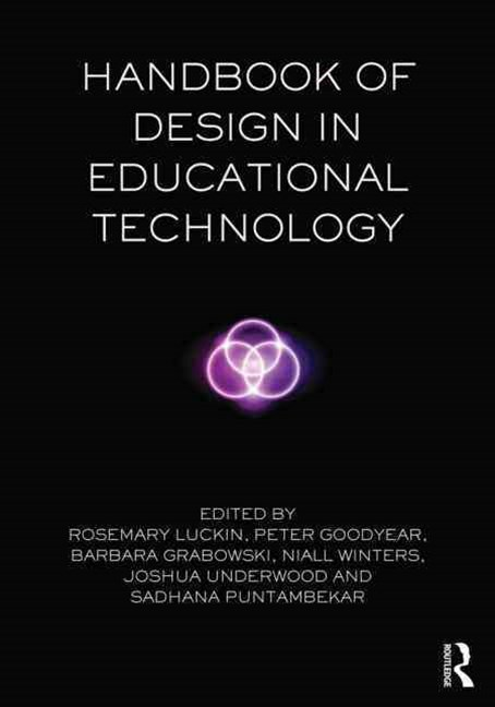 Handbook of Design in Educational Technology