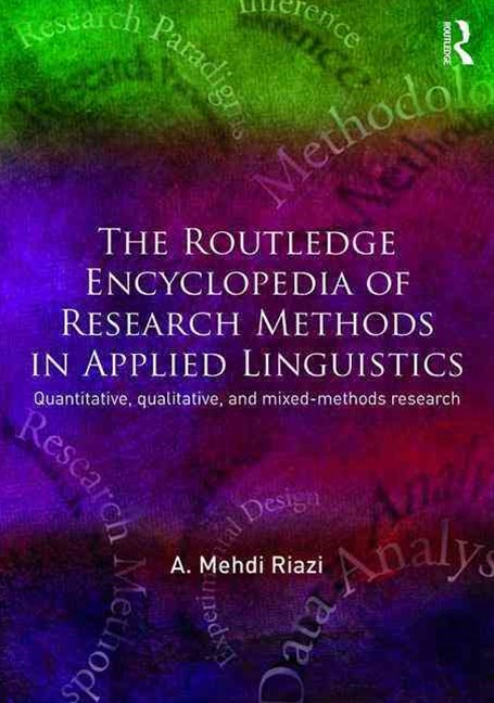 Routledge Encyclopedia of Research Methods in Applied Linguistics