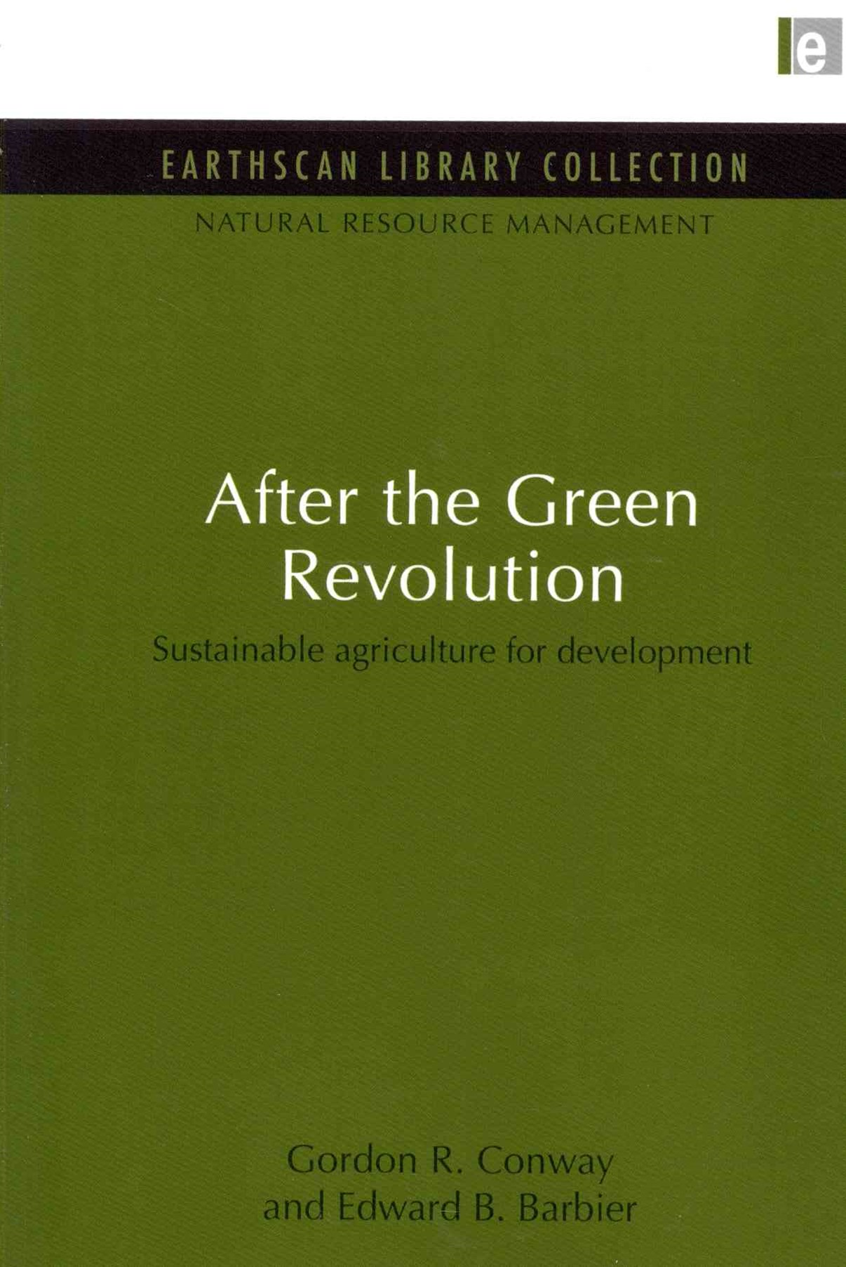 After the Green Revolution