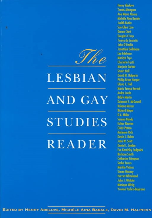 Lesbian and Gay Studies Reader
