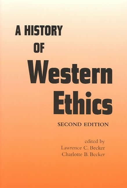 History of Western Ethics
