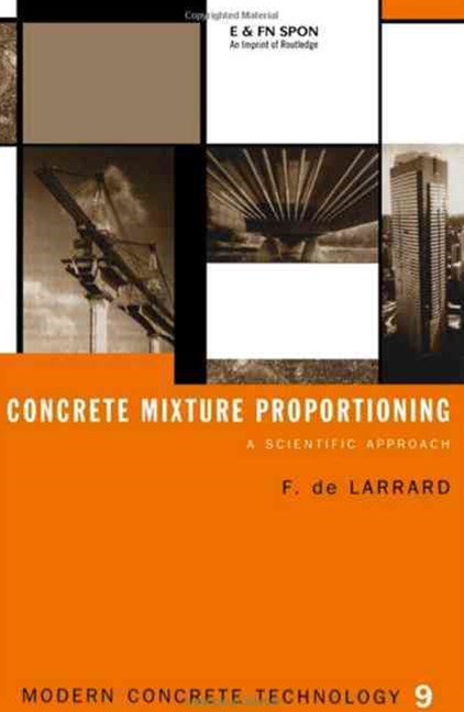 Concrete Mixture Proportioning