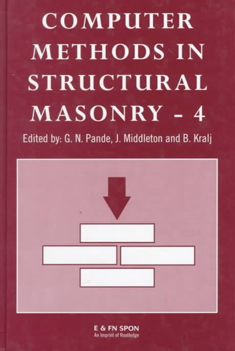 Computer Methods in Structural Masonry: International Symposium