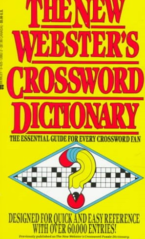 New Websters Crossword Dictionary