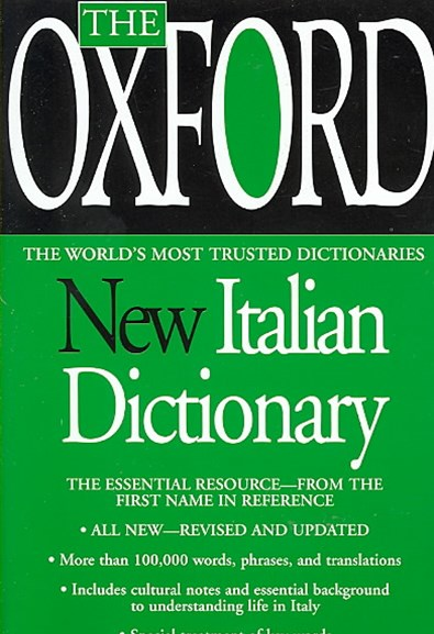The Oxford New Italian Dictionary