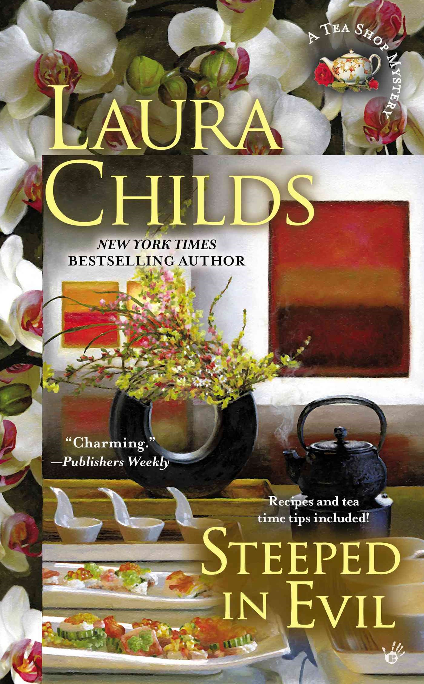 Steeped In Evil: A Tea Shop Mystery Book 15